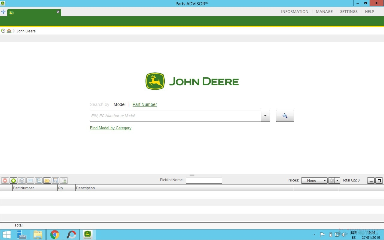 John Deere Parts ADVISOR 2019 [12.2018] Offline